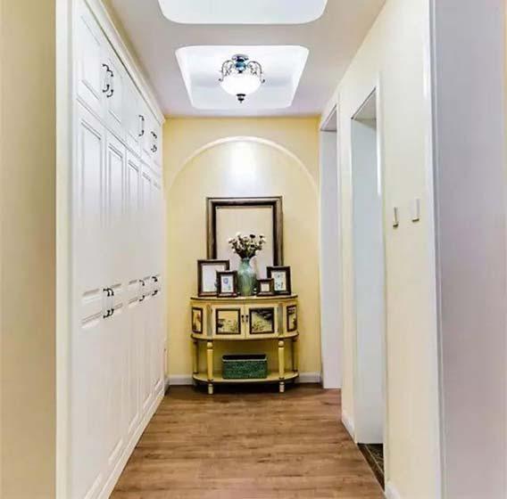 走廊装饰柜设计平面图