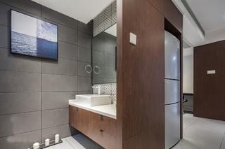 80平宜家风格装修卫浴间图片