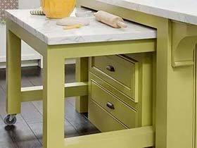 厨房花样百出  10款厨房收纳装修图片