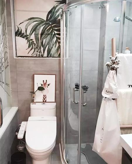 小户型卫生间装修欣赏图