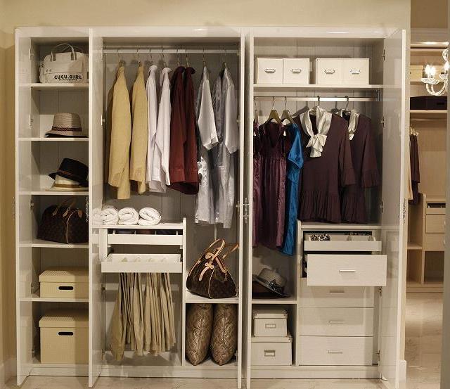 侧卧衣柜_选择平开门就不用担心这些缺点了