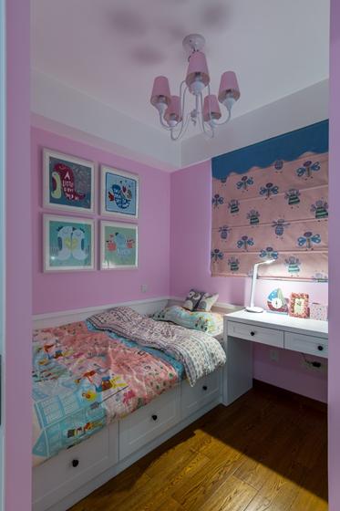 宜家风格两居室装修儿童房效果图