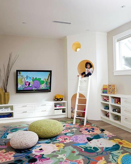 儿童房设计与装修图片大全