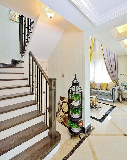 60平米时尚loft装修楼梯效果图
