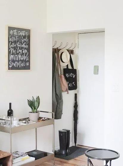 简易进门玄关装修设计图