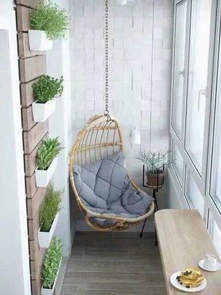 小户型阳台设计参考图