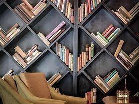 书籍颠覆的生活  10款书架布置装修图
