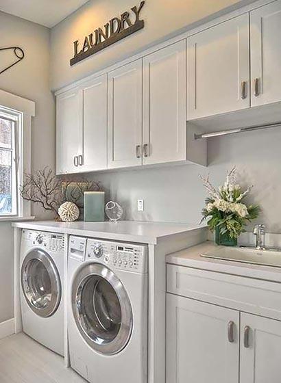 家庭洗衣房布置效果图