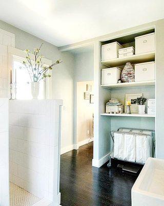 卫生间收纳箱设计欣赏图