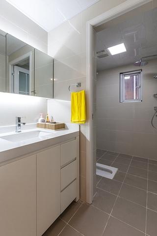 90平宜家风格装修卫生间图片