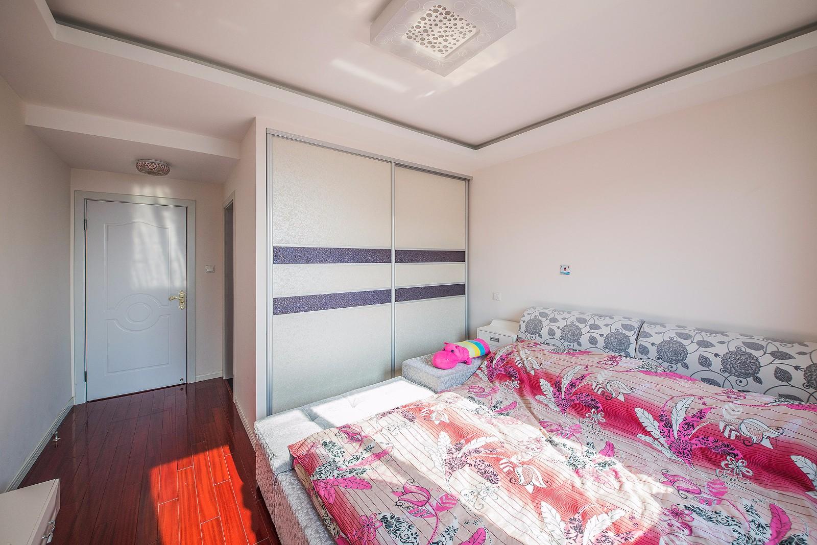89平地中海风格卧室装修效果图