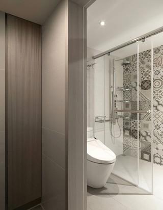 60㎡现代公寓卫生间装修效果图