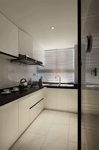 140m²现代简约厨房装修效果图