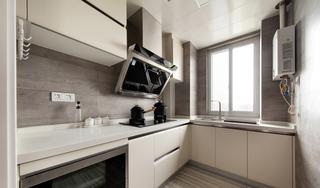 108平北欧风厨房装修效果图
