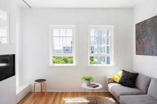 小户型简约公寓装修效果图