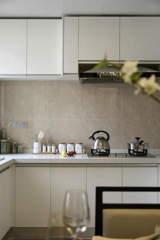 现代中式风三居厨房装修效果图