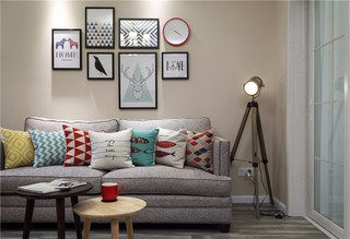104平简美两居室装修效果图