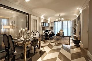 新古典欧式二居装修效果图