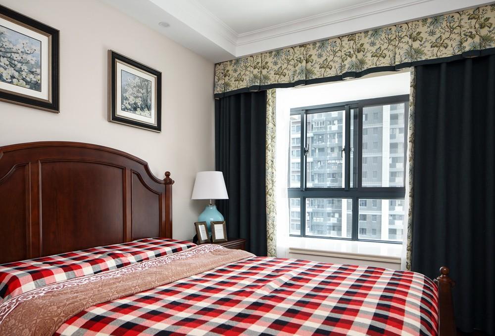 美式风格卧室装修搭配图