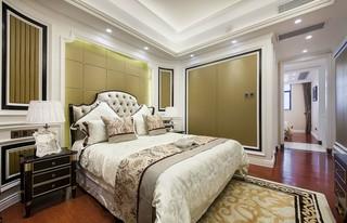 140平新古典风格卧室装修效果图