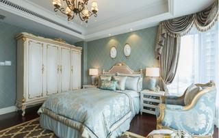 法式奢华别墅卧室装修效果图