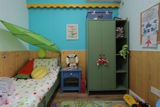 田园混搭风格三居儿童房装修效果图