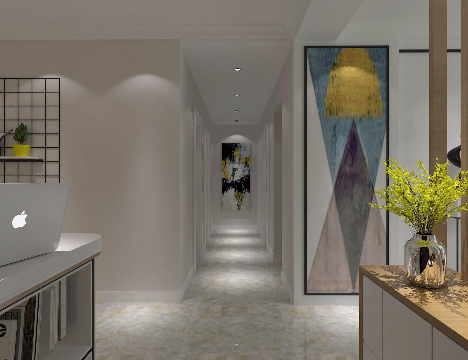简约现代风格走廊装修效果图