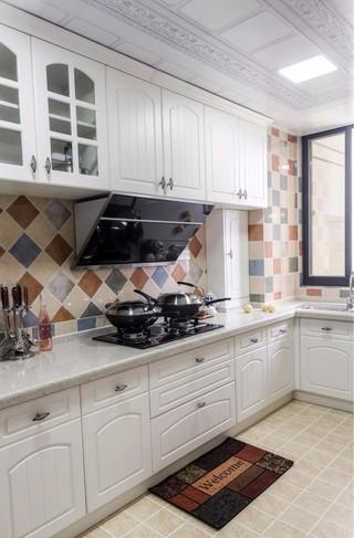 三居室地中海风格厨房每日首存送20