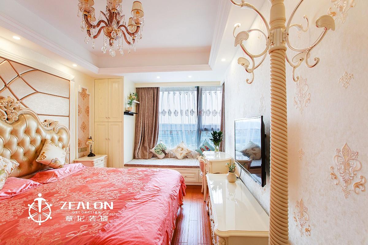 新古典欧式风格卧室装修效果图