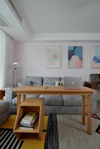 北欧风格两居室装修书桌设计图