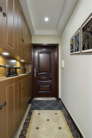 二居室现代简约风玄关装修效果图
