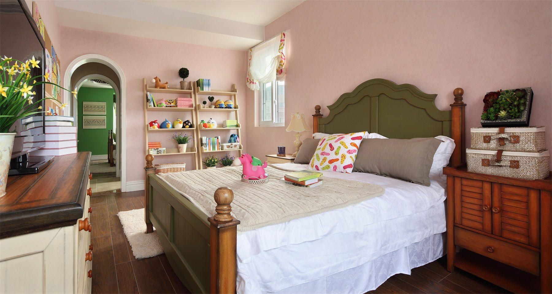 田园风格两居室儿童房装修效果图