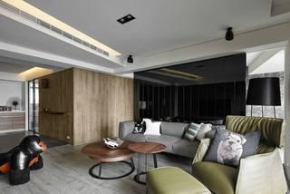 150平现代风客厅装修效果图