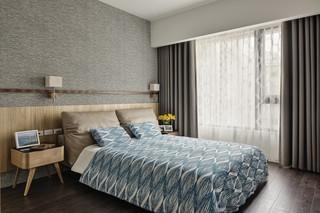 115㎡现代风格卧室装修效果图