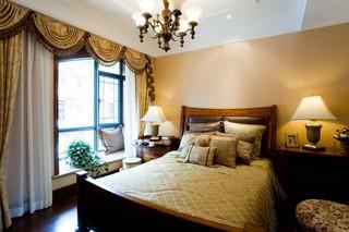 英伦风格别墅卧室装修效果图