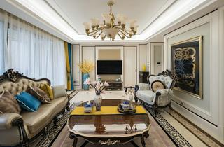 欧式古典风格客厅每日首存送20