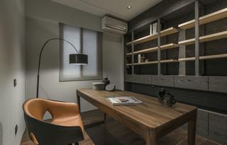 140平米现代风书房装修效果图