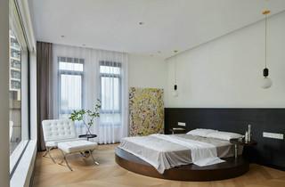 现代极简风别墅卧室装修效果图