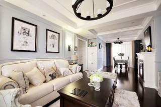 两居室美式风格装修效果图