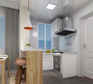 简约风格两居室厨房装修效果图