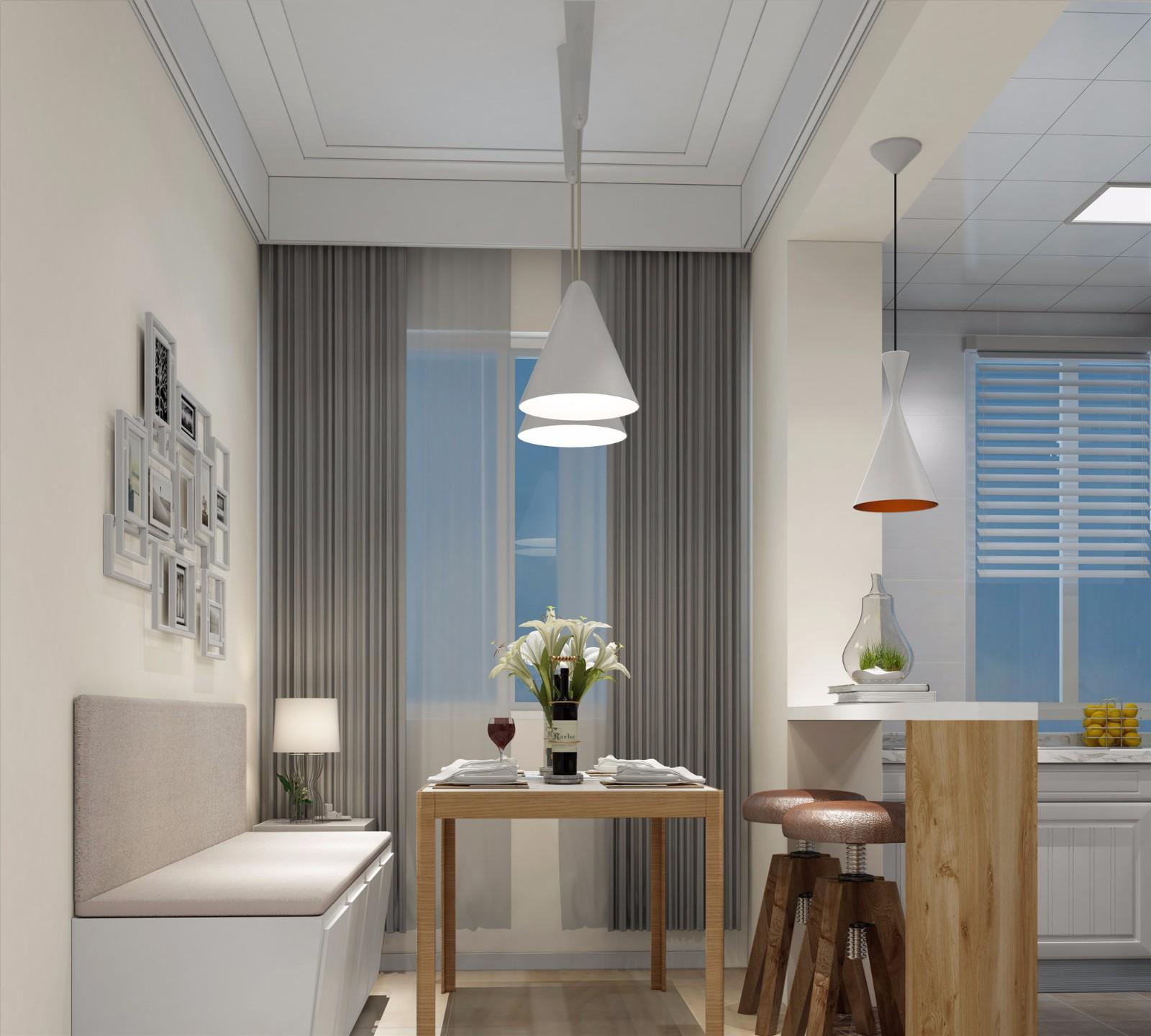 简约风格两居室餐厅装修效果图