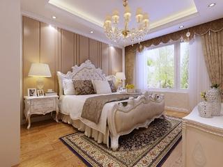 豪华欧式风三居卧室装修效果图