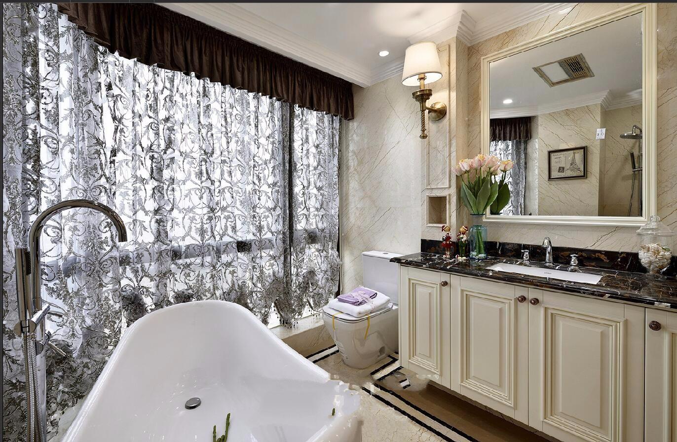 奢华欧式风格卫生间装修设计效果图