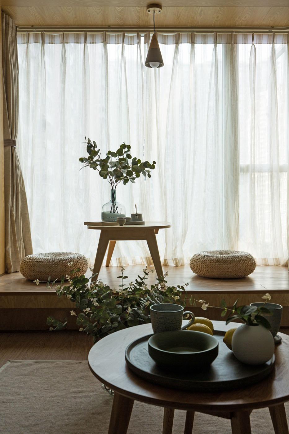 小户型北欧风格茶台装修效果图