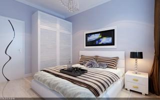 95平现代简约卧室装修效果图