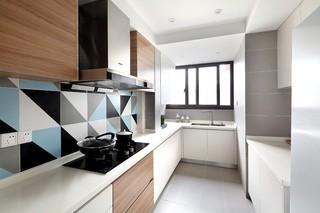 125平米北欧风格厨房装修效果图