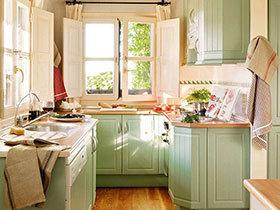美食奇遇记 10款厨房装修效果图