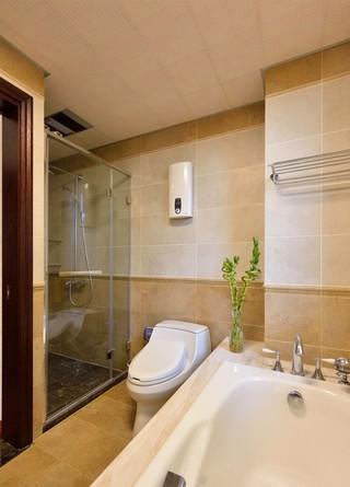 大户型美式风格卫生间装修效果图