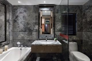 现代中式风格三居卫生间装修效果图