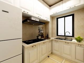 欧式风格三居厨房装修效果图